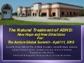 Natural Treatments for ADHD - April 11, 2018
