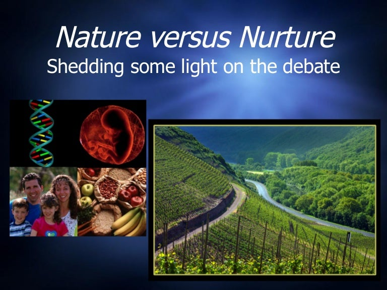 Nature vs nurture debate essays