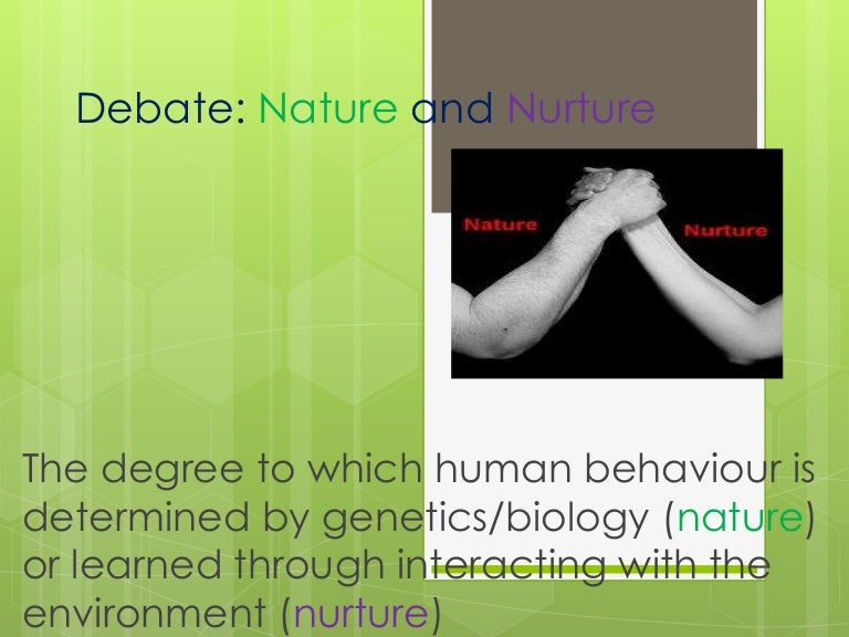 nature nurture powerpoint