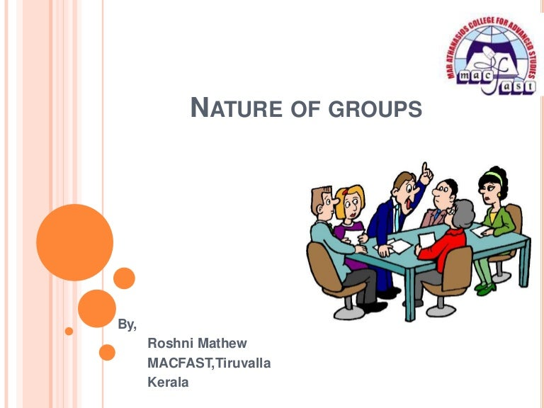 types of groups in organisational behaviour ppt