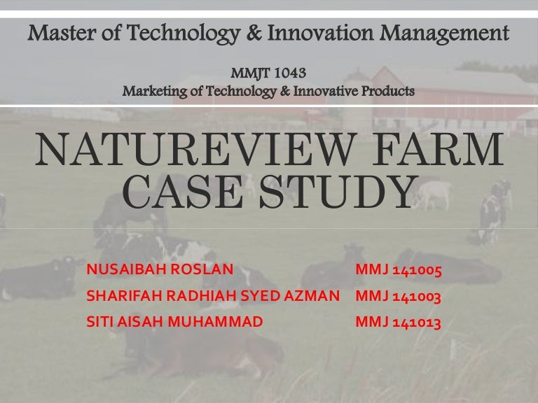which option should natureview farm choose The only reason these options should not be pursued now is because they need either be further developed or implemented on a smaller scale this goal does not need to be grossly overachieved if natureview pursues the third option.
