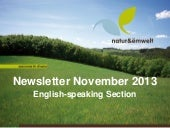 natur&ëmwelt English-speaking Section Newsletter 2013_11