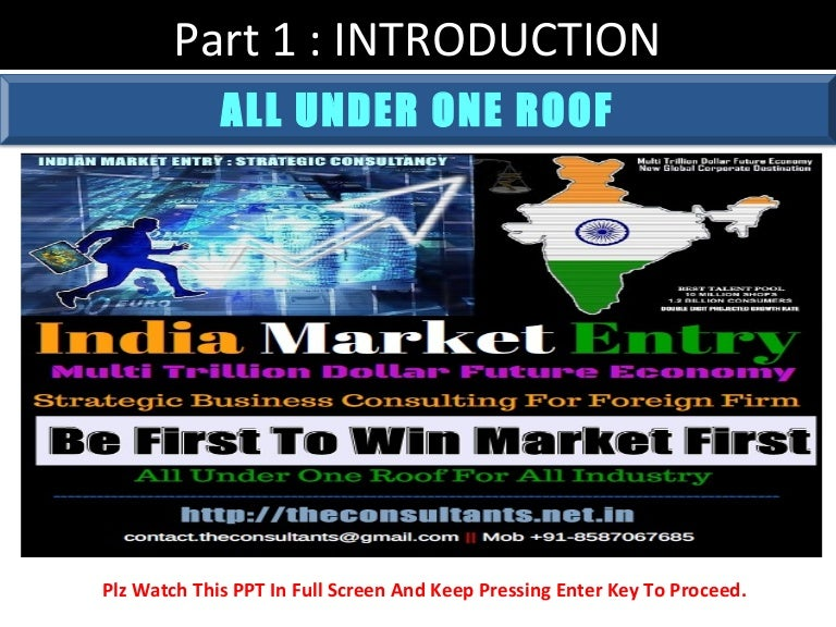 roof strategy led light business in india strategy consulting