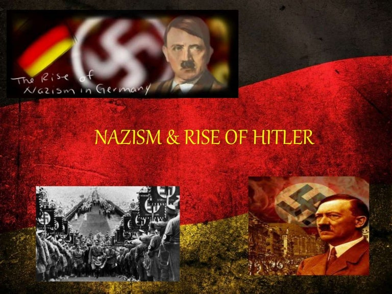 rise of hitler 2 essay Adolf hitler's rise to power began in germany in september 1919 when hitler joined the political party known as the deutsche arbeiterpartei - dap (german workers' party.