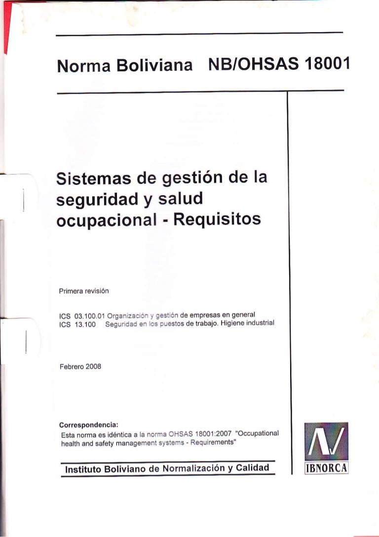 norma iso 18001 version 2015 pdf