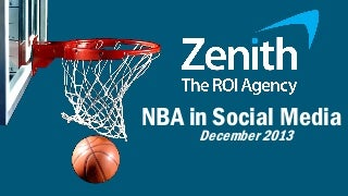 NBA in Social Media