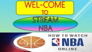 Watch NBA Online - NBA Live Streaming