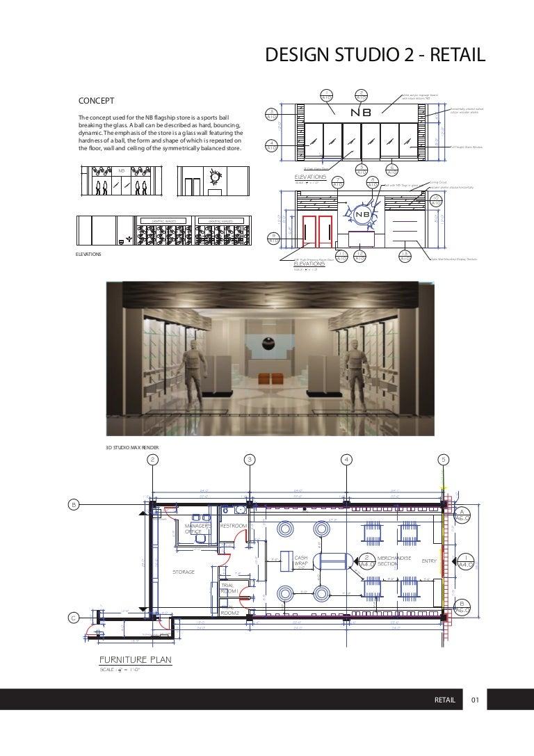 interior design portfolio harini balu retail