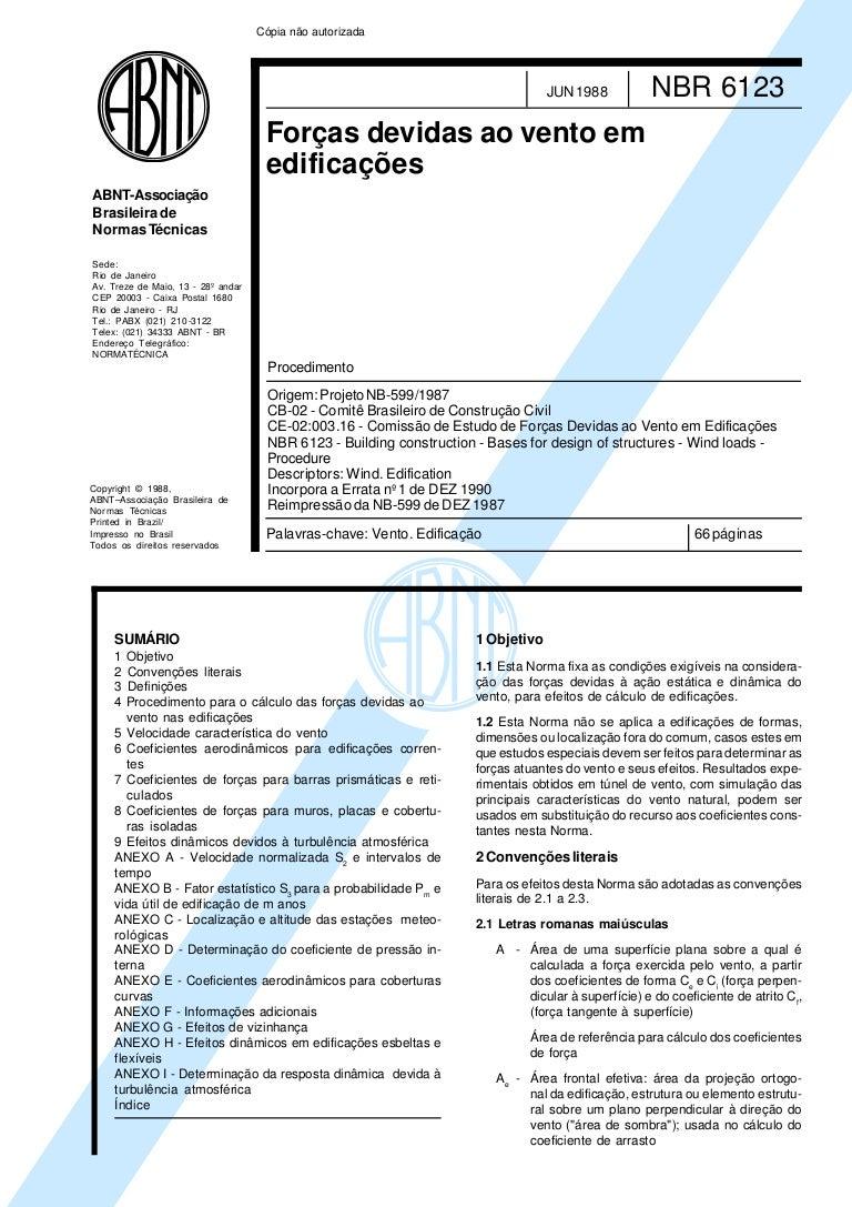 nbr 6123 pdf