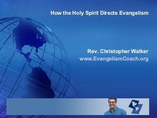 Holy Spirit and Evangelism