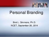 NCET Personal Branding