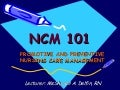Ncm 101 Orientation
