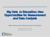 NCME Big Data  in Education