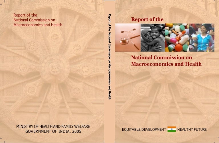 Report of the National Commission on Macroeconomics and Health