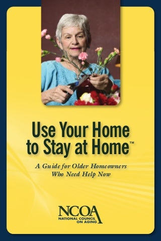 Reverse Mortgage Booklet