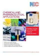 Analizadores y medidores NDC NIR para la industria farmaceutica