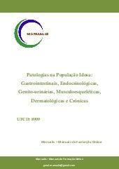 UFCD - 8909 - Patologias na População Idosa: Gastrointestinais, Endocrinológicas, Genito-urinárias, Musculoesqueléticas, Dermatológicas e Crónicas