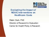 NEAIC Cost Evaluation (presented by Robin Clark)