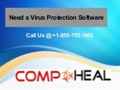 Virus Protection Software +1-855-755-1855