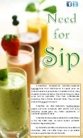Need for Sip