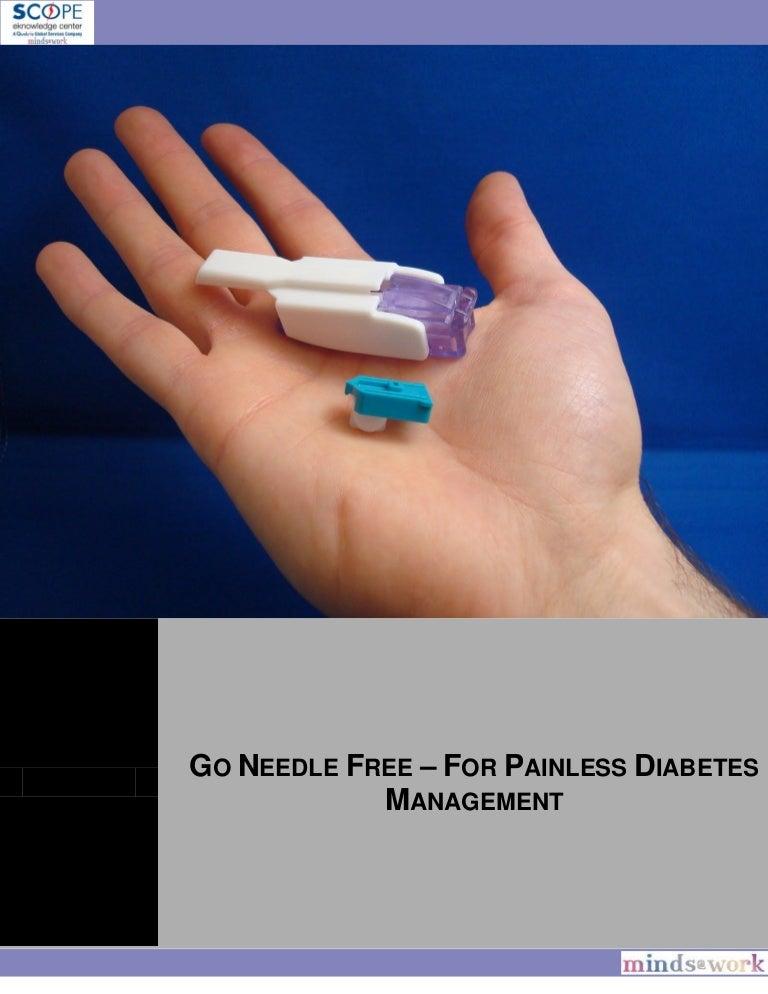 GO NEEDLE FREE – FOR PAINLESS DIABETES MANAGEMENT