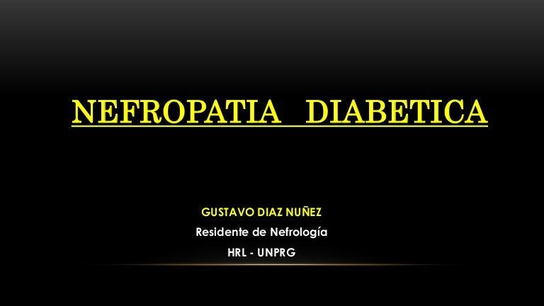 dieta de diabetes renal con hiperfiltración
