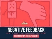 Negative Feedback: How to handle the inevitable criticism?
