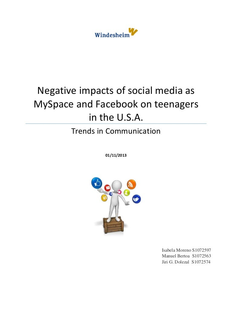 the negative effects of media in the united stated The payne fund studies, conducted in the united states during this period, focused on the effect of media upon young people many other separate studies focused on persuasion effects studies, or the possibilities and usage of planned persuasion in film and other media.