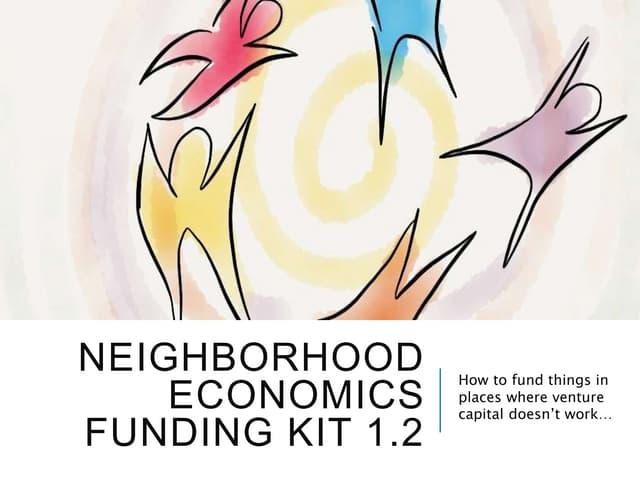 Neighborhood economics funding kit.yancey