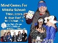 Mind Games for Middle School: Think, Learn & Have Fun!!! New England League of Middle Schools (NELMS) Annual Conference, Providence, RI, March 30, 2017, Photo Album.