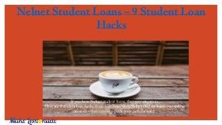 Nelnet student loans hack