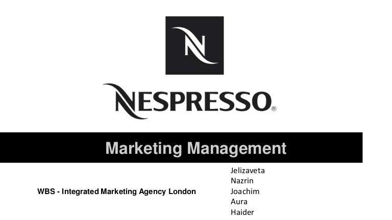 nespresso demographics