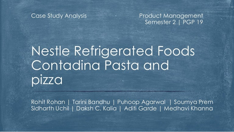 nestle case study harvard business school Nestle (philippines) case study solution, nestle (philippines) case study analysis, subjects covered brands competition international marketing by donald j lecraw source: richard ivey school of business foundation 9 pages.