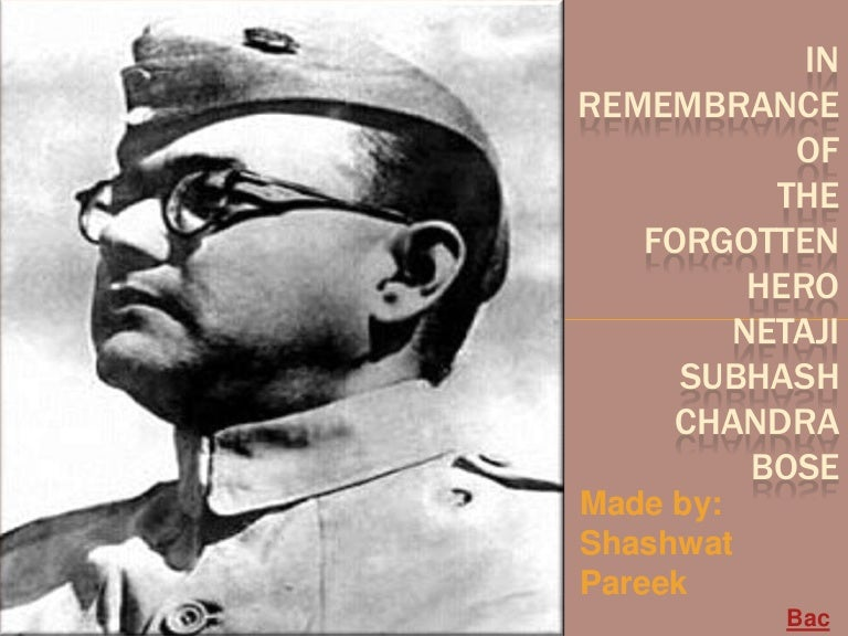 subhas chandra bose biography in hindi