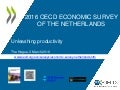Netherlands 2016 OECD Economic Survey unleashing productivity The Hague 3 March