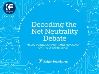 Decoding the Net Neutrality Debate