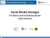 NetPress Social Media Strategie Workshop Part 1