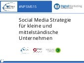 NetPress Webinar Social Media Strategie für KMUs