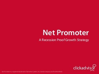 Net Promoter Recession-Proof Growth Strategy