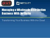 Netsuite for Wholesale Distribution Companies