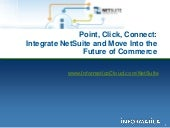Informatica Cloud Integration for NetSuite
