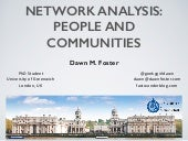Network Analysis: Tech Evangelism London Meetup