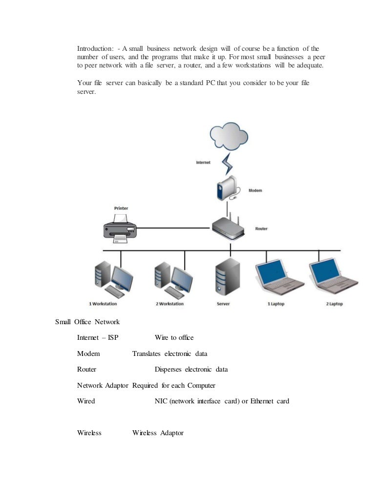 Designing A Home Network Connected Home Network Reference Design A Small  Business Network Design