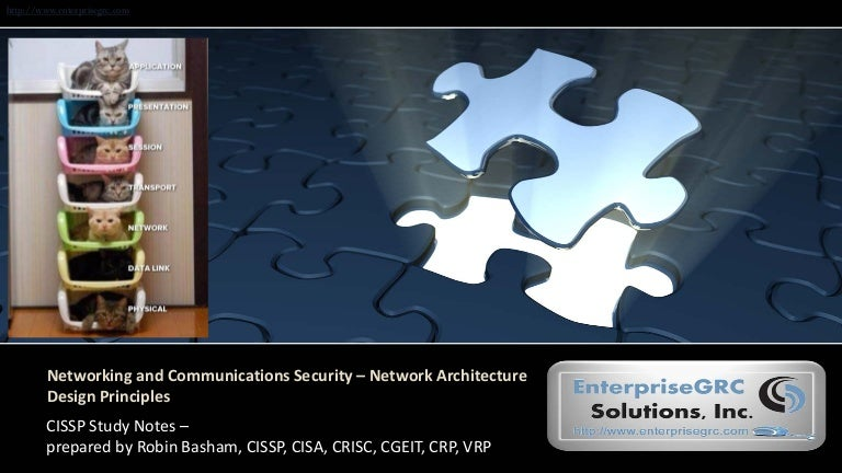 Networking and communications security – network architecture design