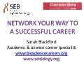 Network your way to a successful career