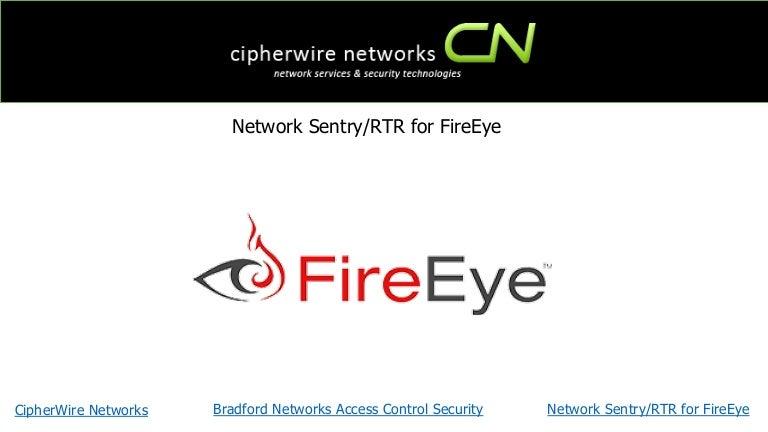 Network Sentry/RTR for FireEye