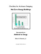 Net Zero Energy Buildings - Checklists for Architects