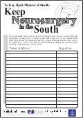 Keep Neurosurgery in the South