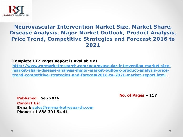 Neurovascular Intervention Market Product Analysis Price Trend Comp