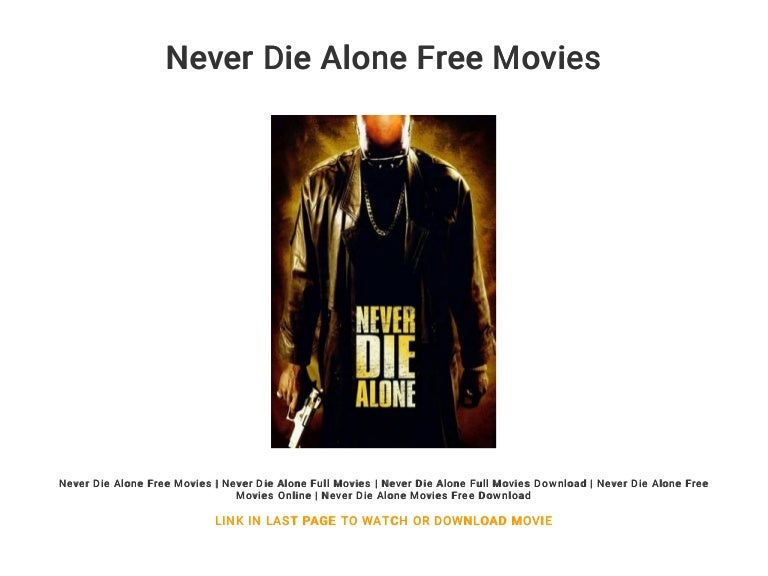 watch never die alone online for free